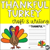 Thankful Turkey Craft & Writing