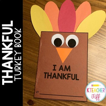 Thankful Turkey Craft Writing