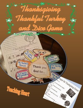 Thankful Turkey Craft and Game