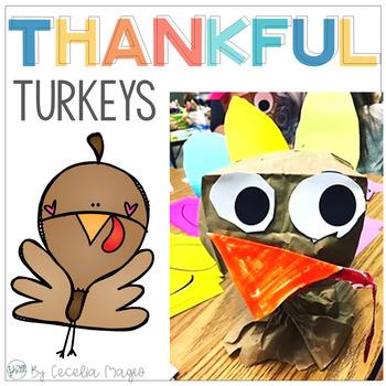 Thankful Turkeys - Two Thanksgiving Crafts