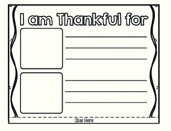 Thankful Turkey Craftivity