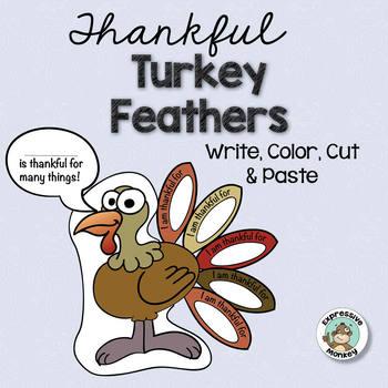 Thanksgiving Activity: Thankful Turkey