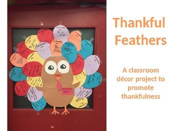 Thankful Turkey Feathers