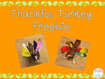 Thankful Turkey Freebie
