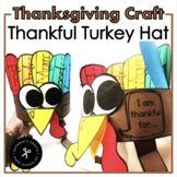 Turkey Hat - Thankful Turkey
