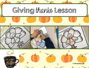 Thankful Turkey Lesson Plan