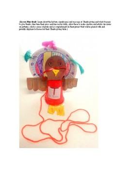 Thankful Turkey Puppet