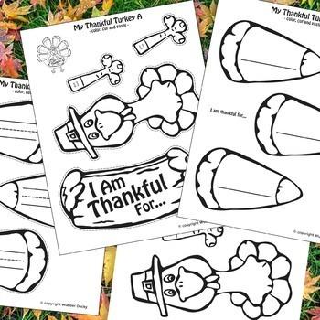 Thankful Turkey - Thanksgiving Paper Plate Craft
