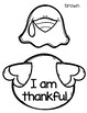 Thankful Turkey Writing Craftivity