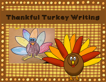 Thankful Turkey Writing