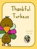 Thankful Turkeys Activity