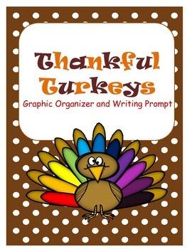 Thankful Turkeys: A Thanksgiving Writing Prompt