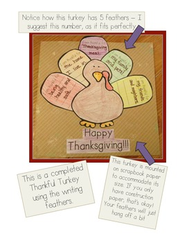 Thankful Turkeys Craftivity