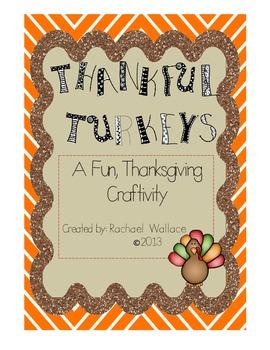 Thankful Turkeys Craftivity