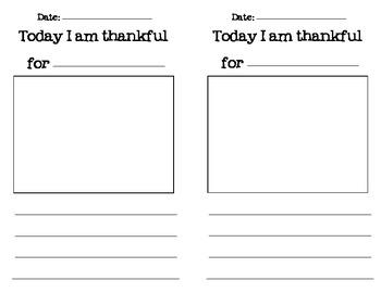 Thankful Writing Journal