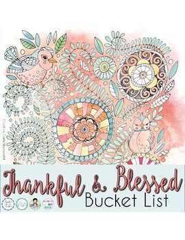 Thankful and Blessed Bucket List Challenge