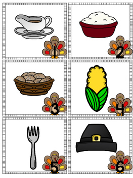 Thankful and Grateful Thanksgiving Write the Room- Beginning Sounds