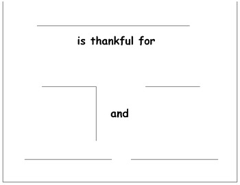 Thankful cut and paste