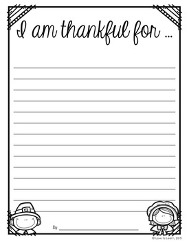 Thankful for Freebies 2 - A Thanksgiving-Themed Freebie
