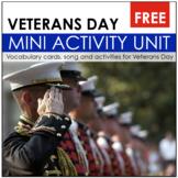 Honoring Veterans- Veterans Day Activity Unit
