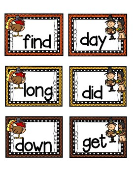 Thankful for Fry Words!