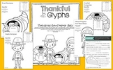 Thankful for Glyphs: Thanksgiving Themed Language Glyphs
