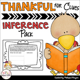 Thankful for Inferences (citing evidence practice pack 4th-6th grades)