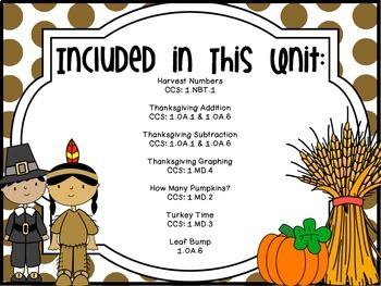 Thankful for Math {Thanksgiving Math Stations}