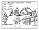 Winter Coloring Sheets for K and G