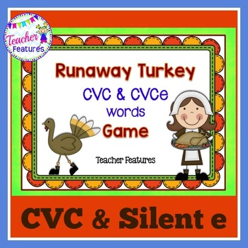 Thanksgiving Activities: Short Vowels Game