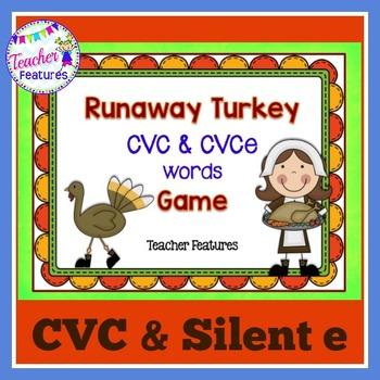 Thanksgiving Activities & Games SHORT VOWELS