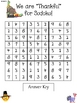 Thanksgiving Sudoku Upper Elementary