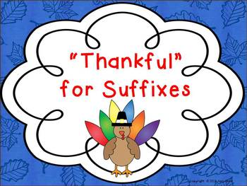 Thankful for Suffixes