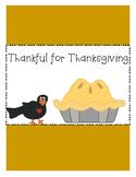 Thankful for Thanksgiving~ Freebie