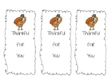 Thankful for You Bookmarks