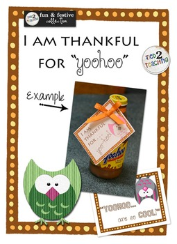 Thankful for You Gift Tag
