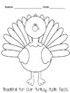 Thankful for our Turkey Math Facts!