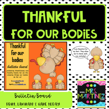 Thankful for our bodies!