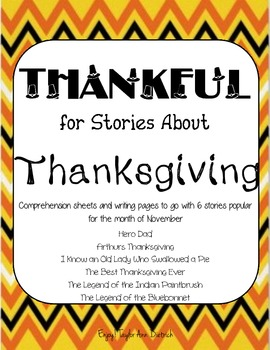 Thankful for stories about Thanksgiving