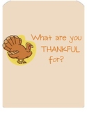 Thankful for the Little Things...