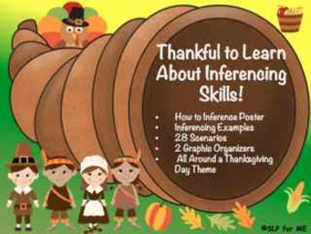 ‪‪#‎nov2017slpmusthave‬ Thankful to Learn About and Practice Inferencing Skills