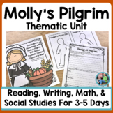 Thanksgiving Close Read With Molly's Pilgrim and Bonus Thematic Content (2nd)