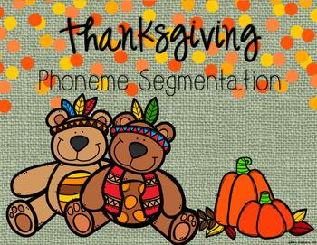Thanksgiving Phonemic Awareness