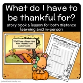 Thankfulness - EBook and Lesson for Distance Learning or I