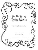 Thankfulness Journal