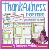 Thankful Activity:  Thankfulness Posters