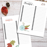 Thankfulness Worksheets | Practicing Gratitude