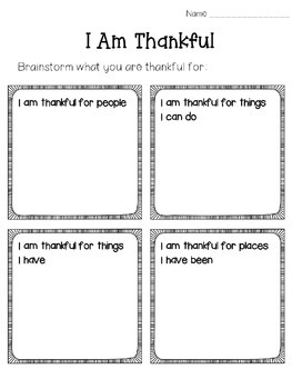 Thankfulness/Gratitude Virtue of the Month (Character Education)