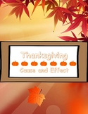Thankgiving Cause and Effect