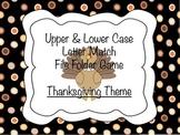 Thankgiving File Folder Number Match